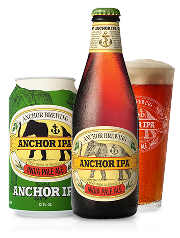 Anchor IPA Beer Bottle
