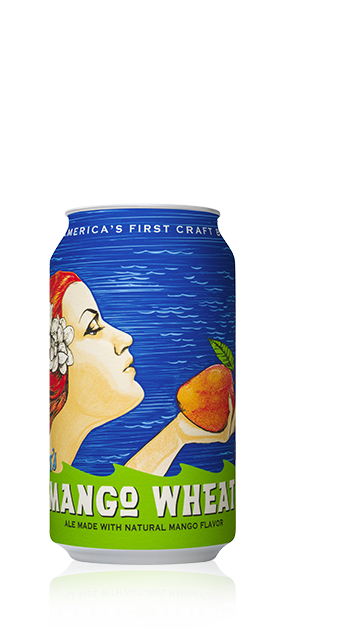Anchor's Mango Wheat Can