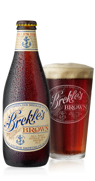 Brekles Brown Beer Bottle
