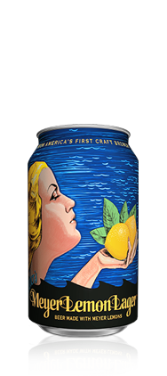 Meyer Lemon Lager Can
