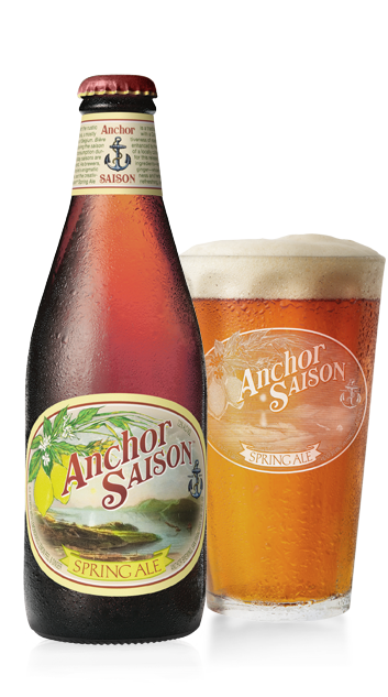 Anchor Saison Beer Bottle