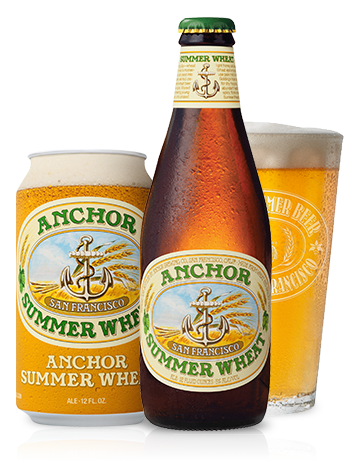 Anchor Summer Wheat Beer Bottle