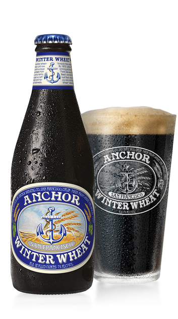 Anchor Winter Wheat Beer Bottle