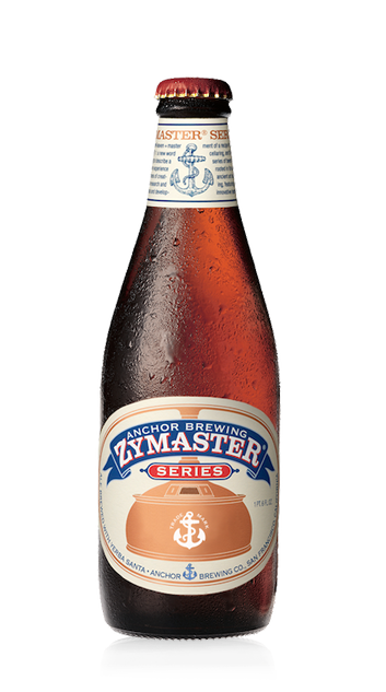 Anchor Zymaster Beer Bottle
