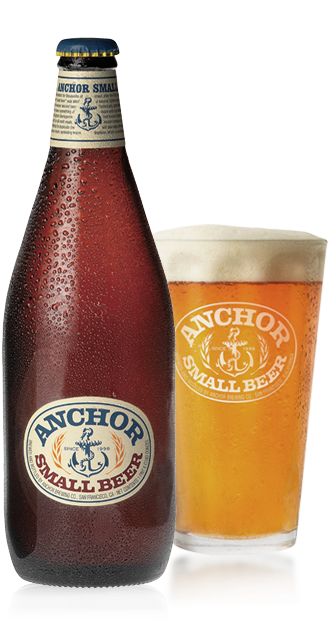 Anchor Small Beer Bottle