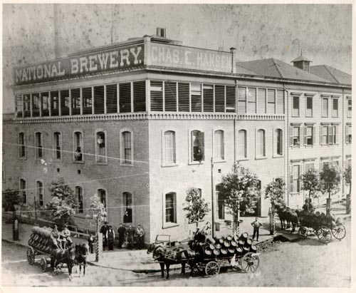 National Brewery, San Francisco, CA - courtesy San Francisco History Center, San Francisco Public Library