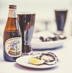 Anchor Porter and fresh oysters? You bet.