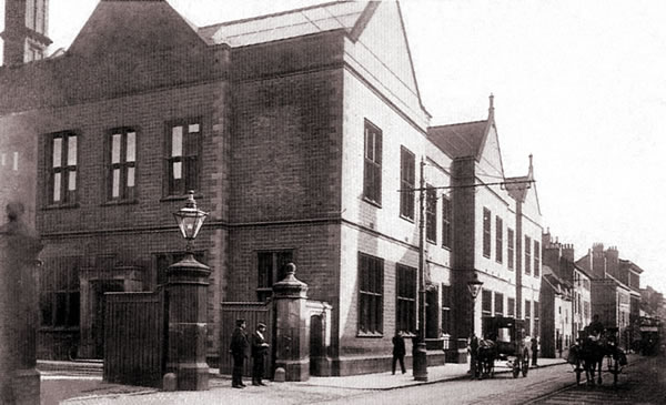 The Bass & Co. Brewery, circa 1904. Photo courtesy burton-on-trent.org.uk.