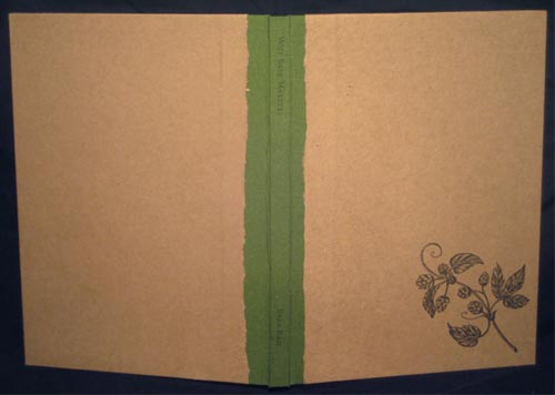 Cover of Why Beer Matters, showing papers handmade from Anchor hop sacks