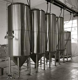 Enclosed Steel Fermenters 250
