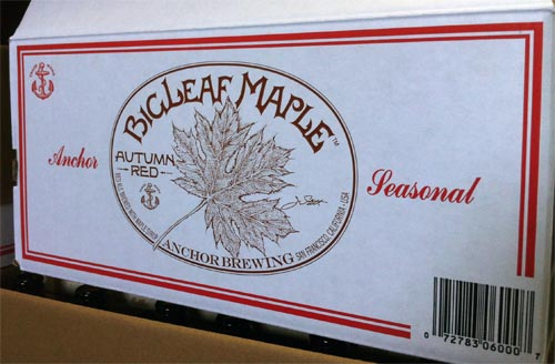 A Big Leaf Maple Shipping Carton