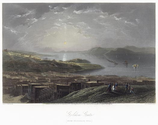 11-Golden-Gate-from-Telegraph-Hill-Hand-colored-print-1873
