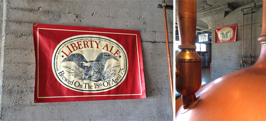 IMG_8794 Liberty Ale banner watching over the brewhouse collage-525