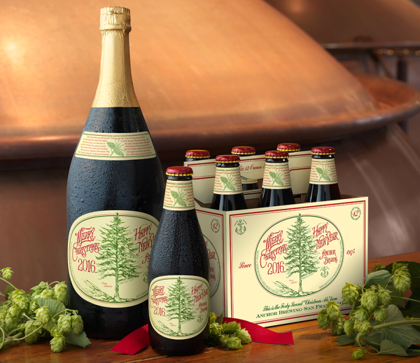 Anchor Steam Christmas Ale 2021 Anchor S 42nd Annual Christmas Ale Label The 1 000 Mile Pine Treeanchor Brewing Blog