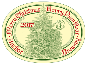 2017 anchor christmas ale label - Anchor Brewing Christmas Ale