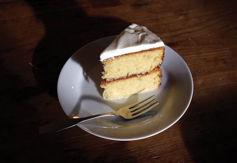 Anchor Steam Orange Marmalade Cake