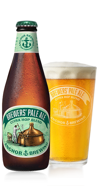 brewers pale ale citra bottle